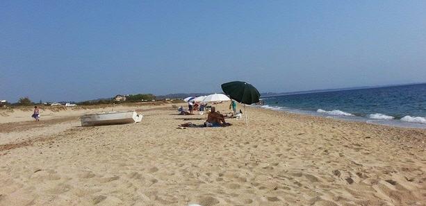 «Βουτιά» στην παραλία Κανάλι Πρεβέζης